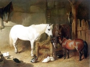 Horse Team After Work 1844