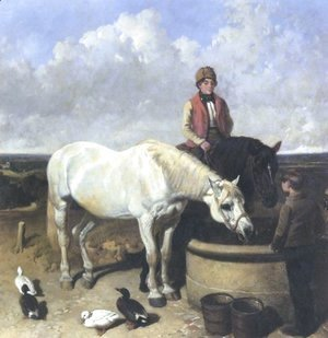 John Frederick Herring Snr - Horses Rider And Stable Hand 1849
