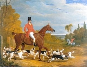 John Frederick Herring Snr - Huntsman and Hounds