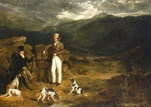 John Barker With Pointers 1824