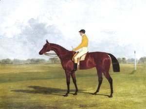 John Frederick Herring Snr - Miss Letty Winner Of The Oaks 1837