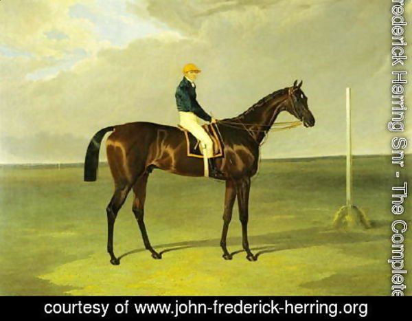 John Frederick Herring Snr - Sluggard with Flatman Up, 1832