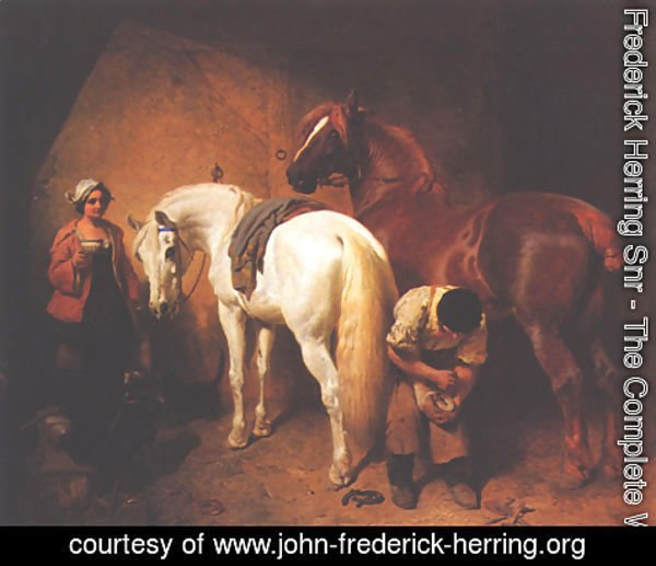 John Frederick Herring Snr - The Blacksmith Shop