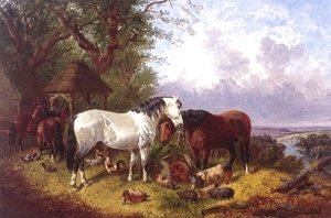 John Frederick Herring Snr - The Farm Yard