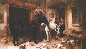 John Frederick Herring Snr - The Farmyard