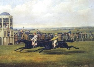 John Frederick Herring Snr - The Finish Of A Race