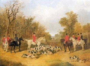 John Frederick Herring Snr - The Meet Foxhunting