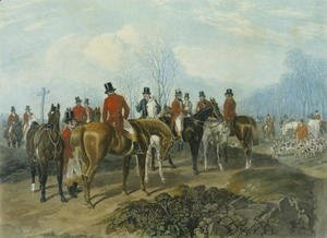 John Frederick Herring Snr - The Meet, engraved by Huffman and Mackrill 2