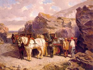 John Frederick Herring Snr - The Quarry