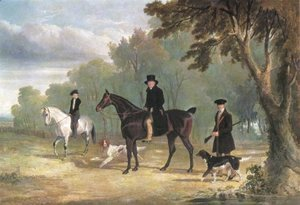 John Frederick Herring Snr - The Sorby Family Of Button Hall 1828