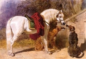 John Frederick Herring Snr - The Squires Pets Arabian and Scottish Deerhounds