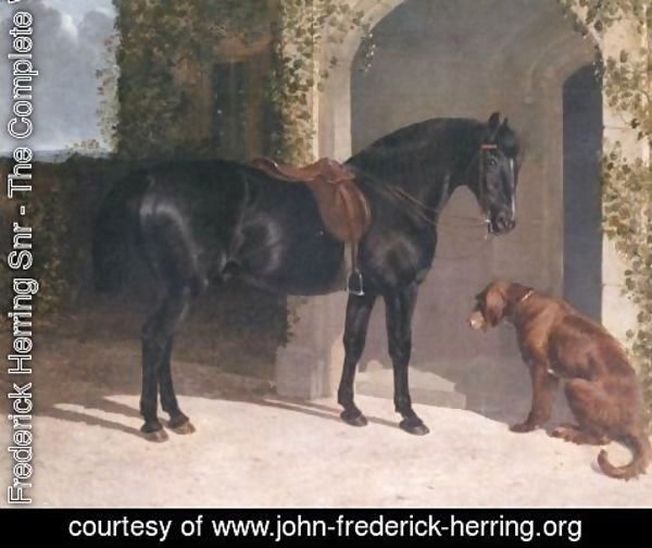 John Frederick Herring Snr - Waiting for Master