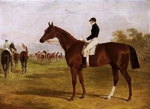 John Frederick Herring Snr - Mundig, A Chestnut Colt With William Scott Up, At The Start For The 1835 Derby