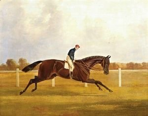 John Frederick Herring Snr - Charles XII, Winner Of The St. Leger, 1839