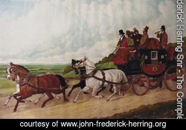 John Frederick Herring Snr - The Royal Mail Coach