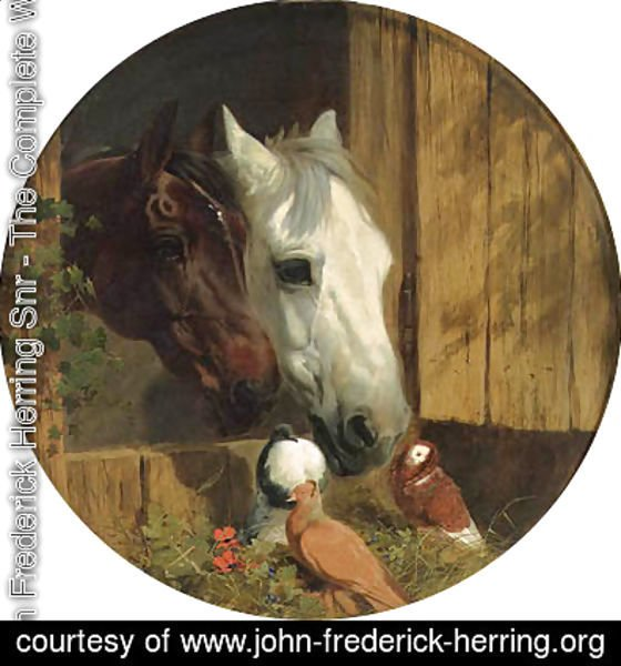 John Frederick Herring Snr - Best of Friends